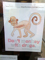 Don't monkey with drugs