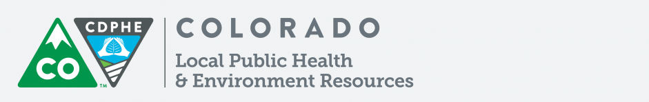 Colorado Local Public Health & Environmental Resources